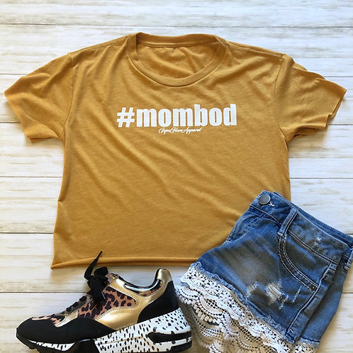 #MOMBOD Cropped Tee