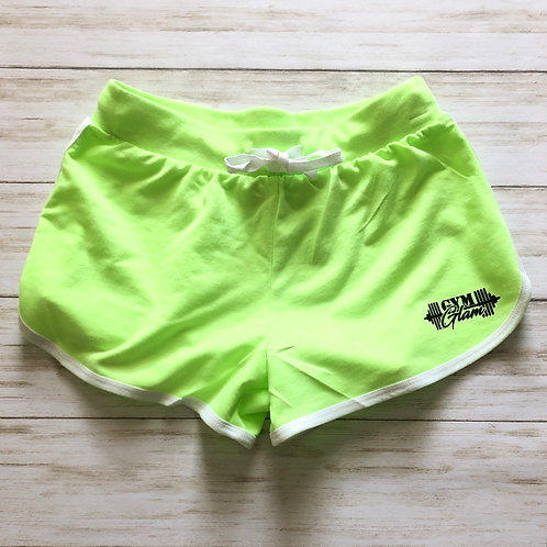 Neon Lime Lounge Shorts