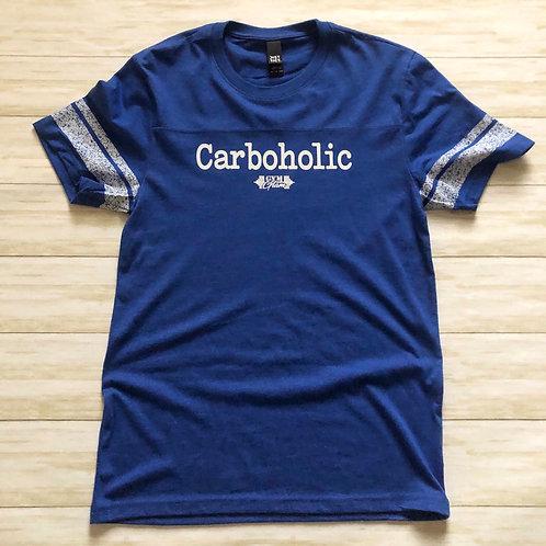 Carboholic Scorecard Tee