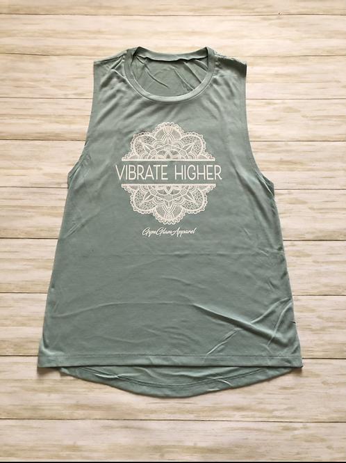 Vibrate Higher Women's Muscle Tank