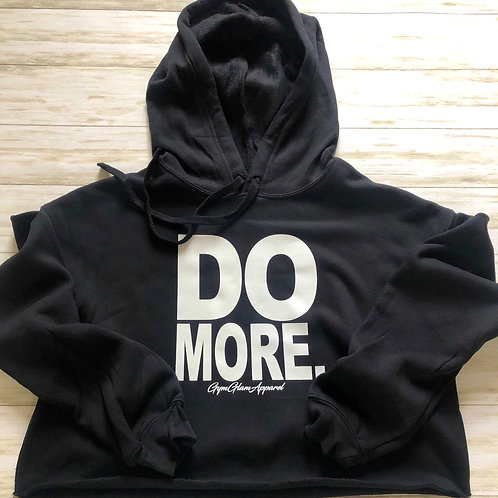 DO MORE Cropped Hoodie