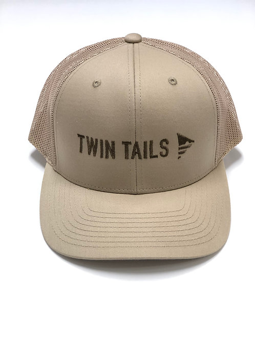 TwinTails Double Logo Trucker Hat