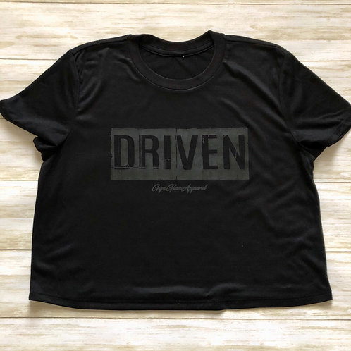 DRIVEN Flowy Cropped Tee