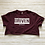 Thumbnail: DRIVEN Distressed Crewneck Cropped Tee