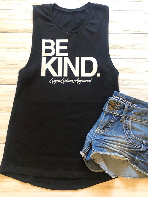 BE KIND Women's Muscle Tank