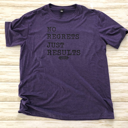No Regrets Just Results Tee