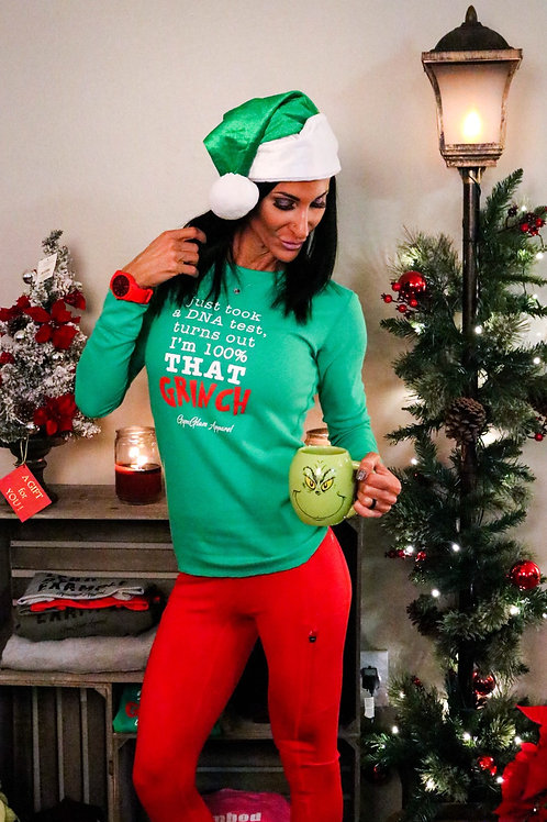 100% that Grinch Long Sleeve Thermal