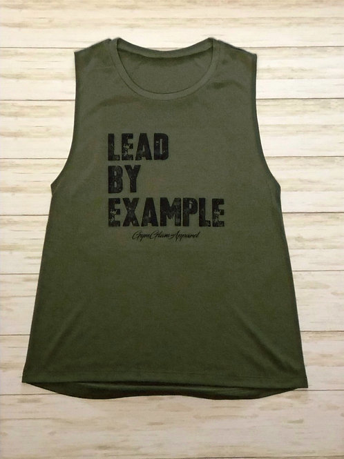 Lead By Example Muscle Tank