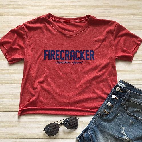 FIRECRACKER Crop Tee