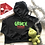 Thumbnail: Grinch, Please Fleece Cropped Hoodie