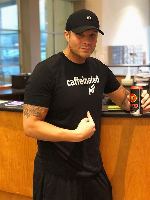 Caffeinated AF Men's Tee
