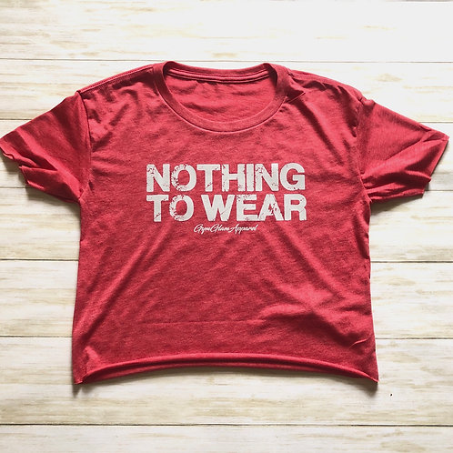 Nothing  To  Wear Cropped Tee