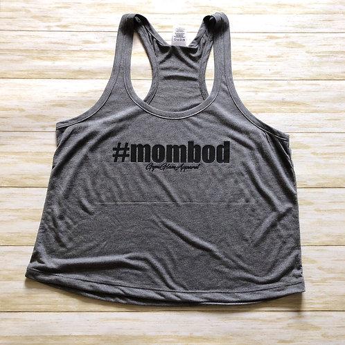 #MOMBOD Cropped Racerback Tank