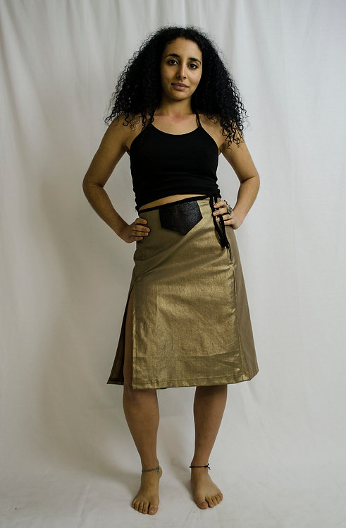 Gold Metal Skirt