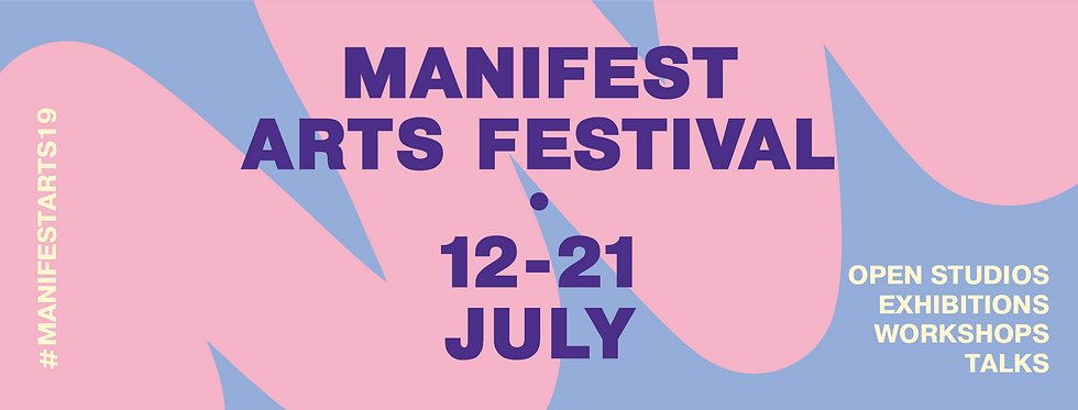 Manifest Arts Festival Announcement