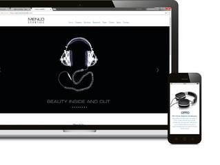 Deep Blue to Re-Design top Acoustic consultant Menlo Scientific's website