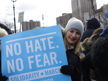 JPA Joins the #No Hate No Fear Solidarity March