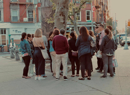The 2019 Cohort Tour the historic Lower East Side
