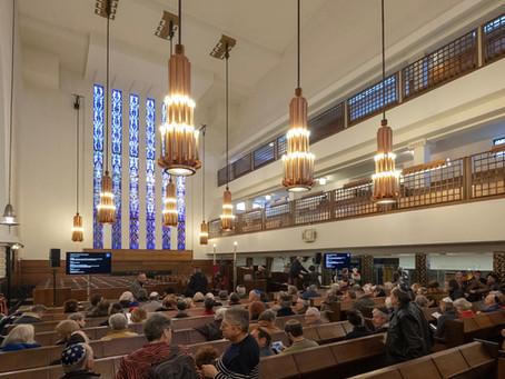 Lezingenmiddag 'RAS synagoge, haar geschiedenis en architectuur' - 8 maart 2020.