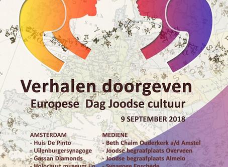 Open Monumentendag èn Europese dag Joodse Cultuur ineen
