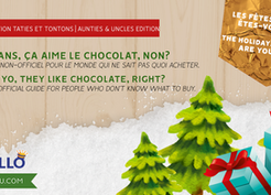 Holiday Shopping: 2 ans, je peux donner du chocolat? / 2 yo, they like chocolate, right?