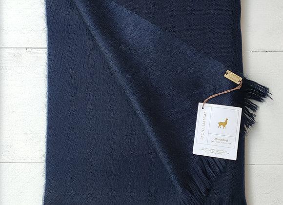 Alpaca scarf - Navy Blue