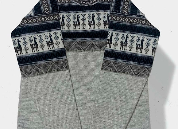 Alpaca sweater - Grey