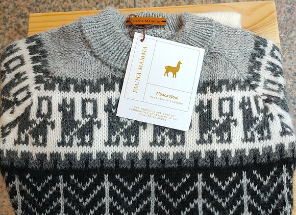 Alpaca knitted sweater