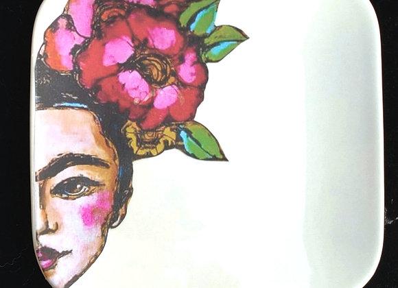 Frida Kahlo plate