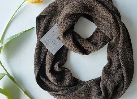 Alpaca round scarf