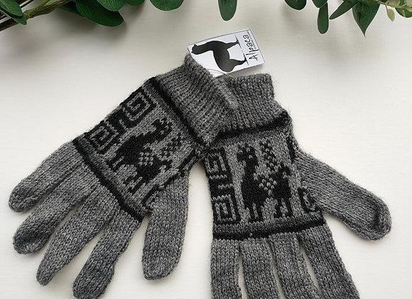Alpaca gloves - Size S