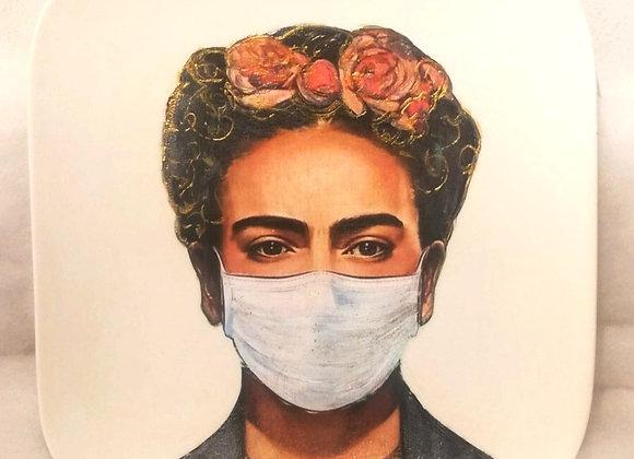 Frida Kahlo decorative plate