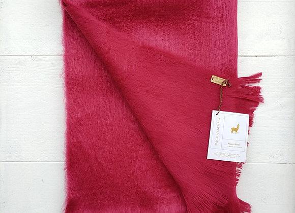 Alpaca scarf - Coral Pink