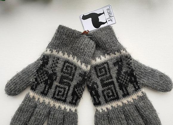 Alpaca gloves - Size M-L
