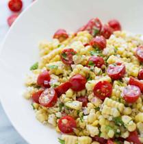 Corn and Tomato Basil Saute