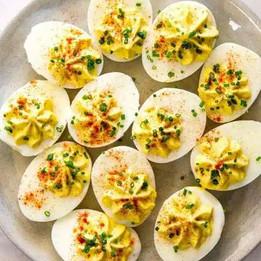 B&V Kentuckyaki Deviled Eggs