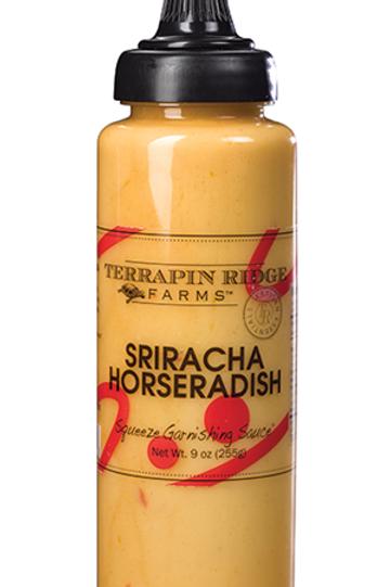 Sriracha Horseradish Garnish Squeeze