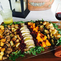 Thanksgiving Salad w/Lemon Thyme Balsamic