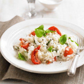 Tomato and Mozzarella Risotto