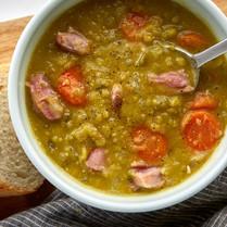 Slow Cooker Spit Pea Soup