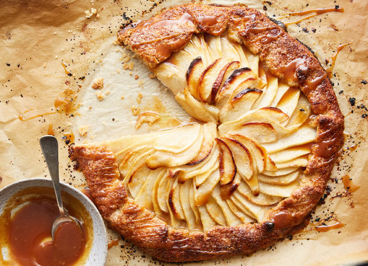 Pear and Almond Galette