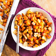 Roasted Butternut Squash & Apples