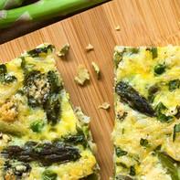 Asparagus and Gruyere Frittata