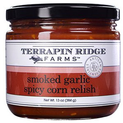 Smoked Garlic Spicy Corn Relish