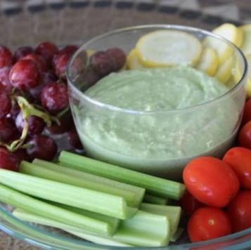 Pesto Yogurt Dip