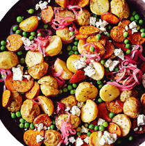 Potato Salad with Pickled Onions
