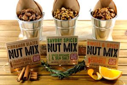 Cinnamon Glazed Nut Mix