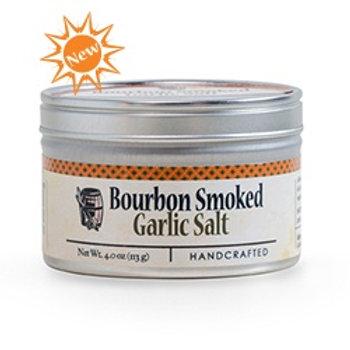 Bourbon Smoked Garlic Sea Salt