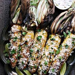 Grilled Street Corn