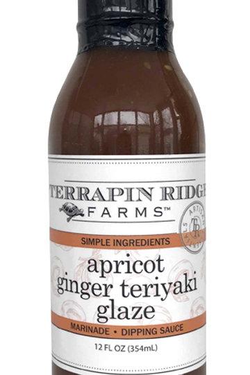 Apricot Ginger Teriyaki Glaze